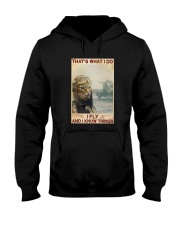 Cat Thats What I Do I Fly And I Know Things Shirt Hooded Sweatshirt thumbnail