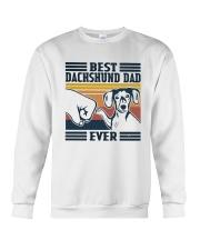 Vintage Best Dachshund Dad Ever Shirt Crewneck Sweatshirt thumbnail