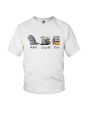 Dinosaur Solid Liquid Gas Shirt Youth T-Shirt thumbnail