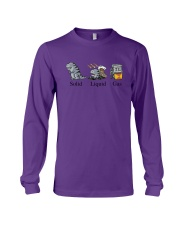 Dinosaur Solid Liquid Gas Shirt Long Sleeve Tee thumbnail