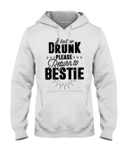 If Lost Or Drunk Please Bestie Shirt Hooded Sweatshirt thumbnail