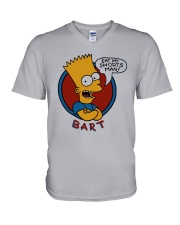 Roy Wood Jr Simpson Eat My Shorts Man Bart Shirt V-Neck T-Shirt tile