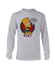 Roy Wood Jr Simpson Eat My Shorts Man Bart Shirt Long Sleeve Tee tile
