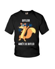 Biffleur Arrête De Biffler Shirt Youth T-Shirt thumbnail