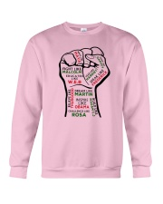 Strong Hand Fight Like Malcolm Educated Shirt Crewneck Sweatshirt thumbnail