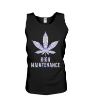 Weed High Maintenance Shirt Unisex Tank thumbnail