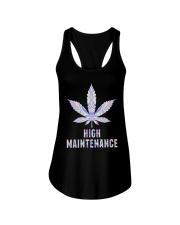 Weed High Maintenance Shirt Ladies Flowy Tank thumbnail