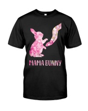Floral Mama Bunny Shirt Classic T-Shirt front