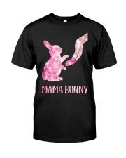 Floral Mama Bunny Shirt Premium Fit Mens Tee thumbnail