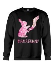 Floral Mama Bunny Shirt Crewneck Sweatshirt thumbnail
