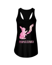 Floral Mama Bunny Shirt Ladies Flowy Tank tile