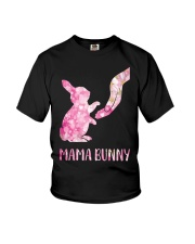 Floral Mama Bunny Shirt Youth T-Shirt tile