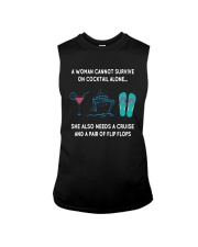 Survive On Cocktail Alone Needs A Cruise Shirt Sleeveless Tee thumbnail