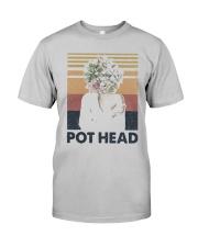 Vintage Girl Pot Head Shirt Classic T-Shirt tile