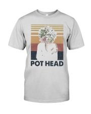 Vintage Girl Pot Head Shirt Premium Fit Mens Tee thumbnail