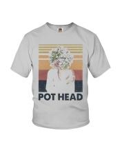 Vintage Girl Pot Head Shirt Youth T-Shirt thumbnail
