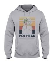 Vintage Girl Pot Head Shirt Hooded Sweatshirt thumbnail