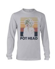 Vintage Girl Pot Head Shirt Long Sleeve Tee thumbnail