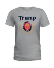 Trump A Fine President 2020 Shirt Ladies T-Shirt thumbnail