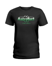 Astro Turf Football Shirt Ladies T-Shirt tile
