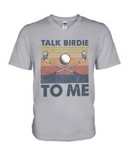 Vintage Talk Birdie To Me Shirt V-Neck T-Shirt thumbnail