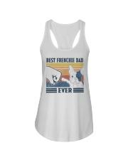Vintage Best Frienchie Dad Ever Shirt Ladies Flowy Tank thumbnail