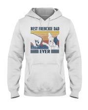 Vintage Best Frienchie Dad Ever Shirt Hooded Sweatshirt thumbnail