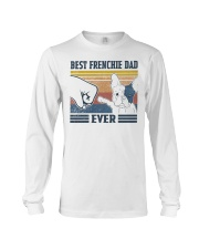 Vintage Best Frienchie Dad Ever Shirt Long Sleeve Tee thumbnail