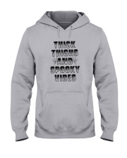 Thick Thighs And Spooky Vibes Shirt Hooded Sweatshirt thumbnail
