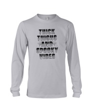 Thick Thighs And Spooky Vibes Shirt Long Sleeve Tee thumbnail