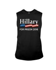 George Takei Hillary For Prison 2016 Shirt Sleeveless Tee thumbnail