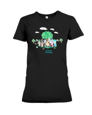 Animal Crossing Shirt Premium Fit Ladies Tee thumbnail