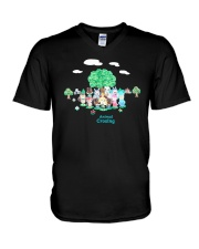 Animal Crossing Shirt V-Neck T-Shirt thumbnail