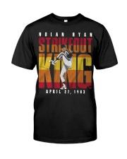 Nolan Ryan Strike Out King Shirt Classic T-Shirt front