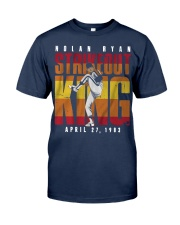 Nolan Ryan Strike Out King Shirt Classic T-Shirt tile