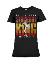Nolan Ryan Strike Out King Shirt Premium Fit Ladies Tee thumbnail