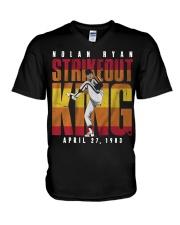 Nolan Ryan Strike Out King Shirt V-Neck T-Shirt thumbnail