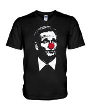 Matt Patricia Roger Goodell Clown Shirt V-Neck T-Shirt thumbnail