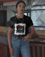 Political Election Vote For Her Shirt Classic T-Shirt apparel-classic-tshirt-lifestyle-05