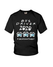 Bus Driver 2020 Quarantined Shirt Youth T-Shirt tile