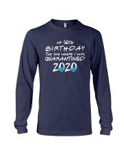 50th Birthday Quarantine T Shirt Long Sleeve Tee thumbnail