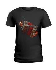Accordionist Squeeze Shirt Ladies T-Shirt thumbnail