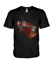 Accordionist Squeeze Shirt V-Neck T-Shirt thumbnail