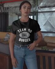 Team 40 Burger Shirt Classic T-Shirt apparel-classic-tshirt-lifestyle-05