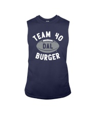 Team 40 Burger Shirt Sleeveless Tee thumbnail
