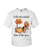 Beagle It's The Most Wonderful Time Of Year Shirt Youth T-Shirt thumbnail