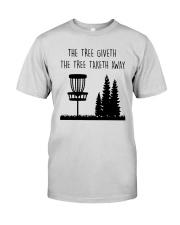 The Three Giveth The Tree Taketh Away Shirt Premium Fit Mens Tee thumbnail