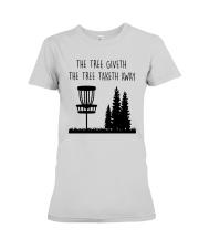 The Three Giveth The Tree Taketh Away Shirt Premium Fit Ladies Tee thumbnail
