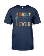 Guitar Best Dad Ever Shirt Classic T-Shirt tile