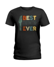 Guitar Best Dad Ever Shirt Ladies T-Shirt thumbnail